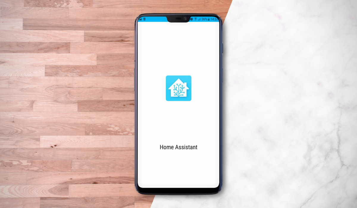 Home Assistant - Android App - Aplikacja
